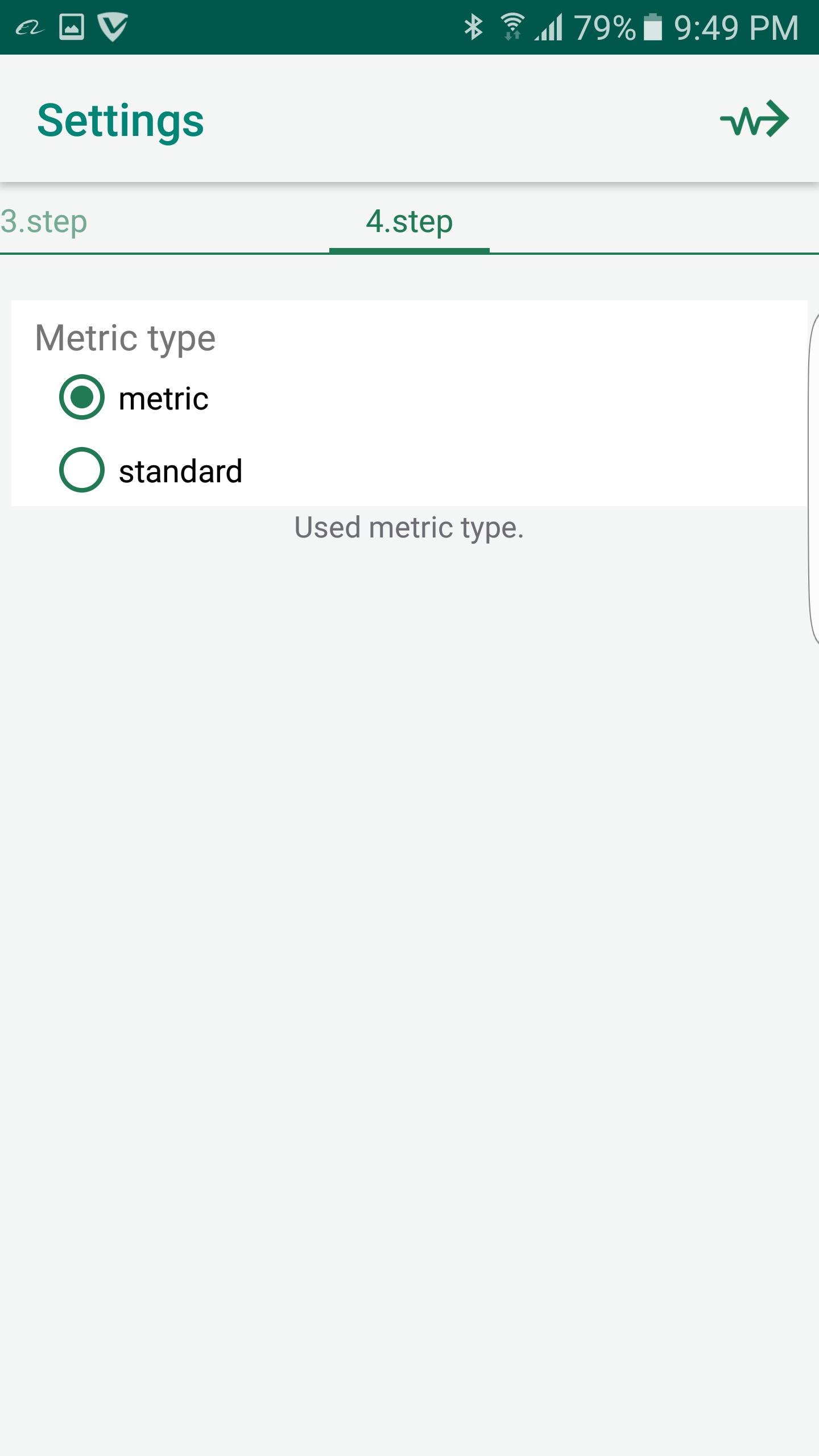 Metric Type