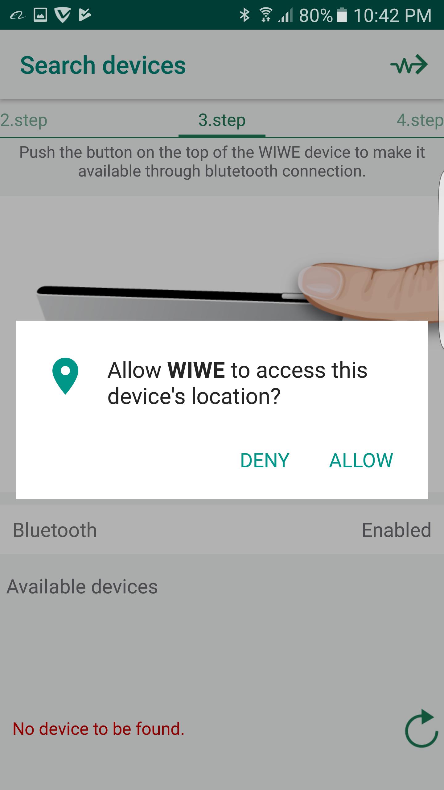 Allow WIWE Access
