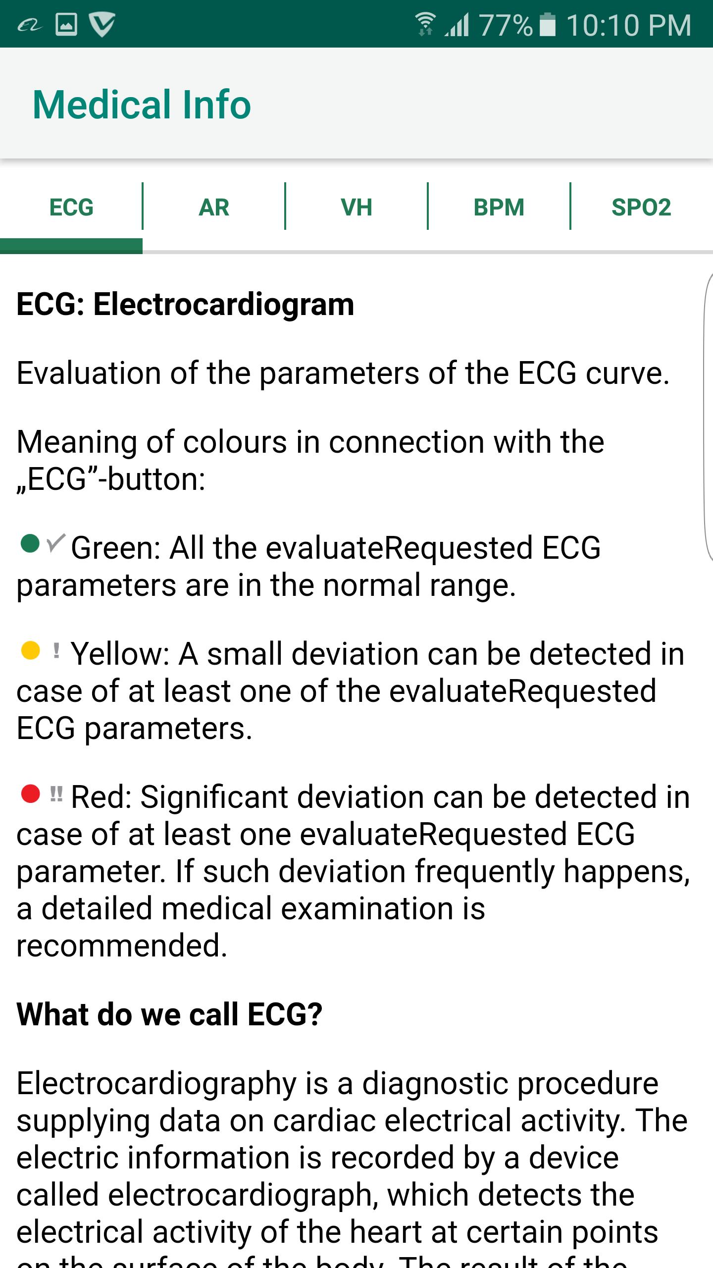 ECG Info